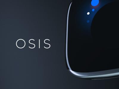 OSIS Healthcare uxui blue health 10clouds interface wearable ui model 3d healthcare