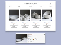 West Spoon Ecommerce Screen