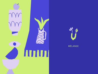 Ultra Violet triptych blue brand brand design design geometry illustration neon plant draw graphic purple uv ultraviolet brand identity deco branding digital illustration graphicdesign color