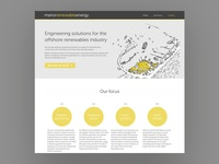 Website Design – Manor Renewable Energy