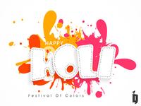 Holi Poster Design