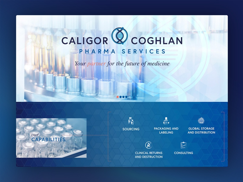 Pharmaceutical Services Company Website