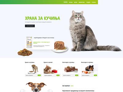 Pet market online shop shop eshop cat animal dog