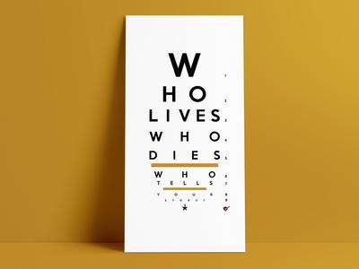 Dueler Eye Chart