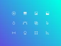 Design Tools Icon Set