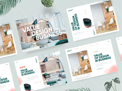 Value of Design in Business - Landing Page Ideas landingdesign landingpage landing designvalue business design