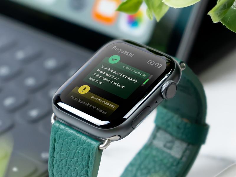 Watch Notifications abudhabi clientwork client handheld notification uidesign uae ux apple design omnichannel apple watch watchos watch ui dubai design