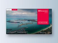 Banner Design for Ramada Plaza