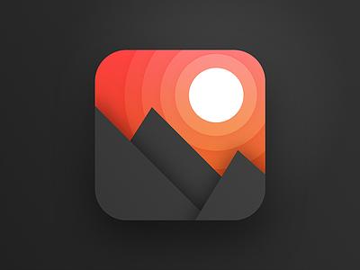 App Icon square badge icon illustration app ios app icon dailyui