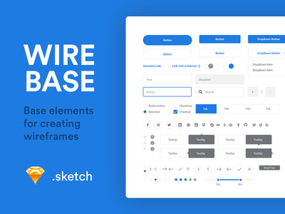 Wirebase interface ux ui resource free wireframe sketch wireframes