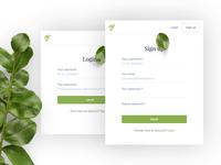 Simpler - Login/Signup