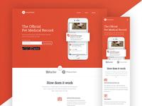 Pawprint - Landing Page