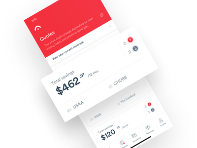 Jerry App - Quotes iphone react android ios app ux ui animation interaction