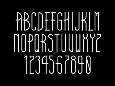 Typeface progress 2