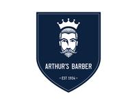 Arthurs Barber Logo