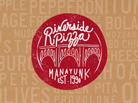 Riverside Pizza logo