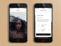 Jewelry Collection - App Design
