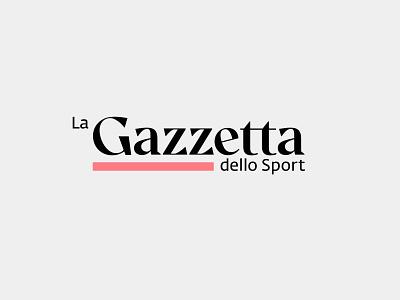 La Gazzetta dello Sport casestudy concept news logotype
