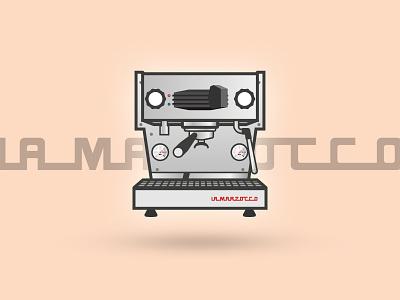 La Marzocco Linea Mini - Espresso Series linea faema la marzocco series illustration espresso machine coffee