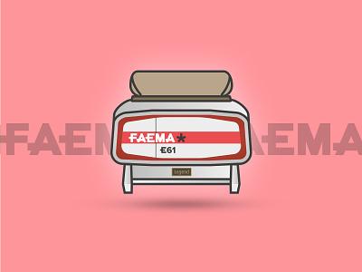 Faema E61 Legend - Espresso Series series illustration caffeine machines espresso coffee legend faema e61