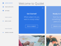 Quizlet Dashboard