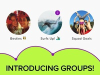 Jott Messenger: Groups
