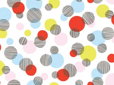 Beachballs pattern illustration