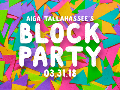 Block Party summer spring aiga block party photograph paper tallahassee