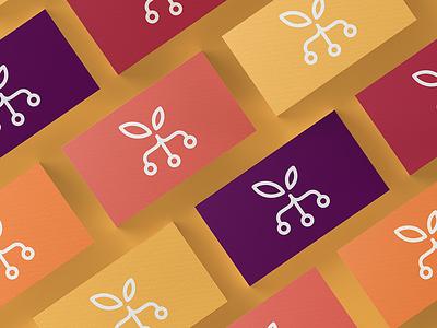 Orchard Branding & App Design logo orchard business cards ui ux ui design app design logo design brand and identity branding