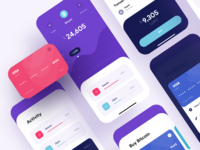 Finance App - iOS UI Dashboard - Fintech
