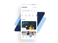 MEX - Android Flutter Reward App with Lottie android app design sales discount network feed services retention engagement loyalty interaction lottie animation motion ui ux material reward app flutter android