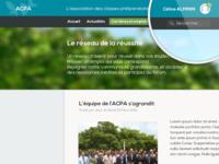 Acpa website redesign