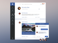 Facebook redesign hd
