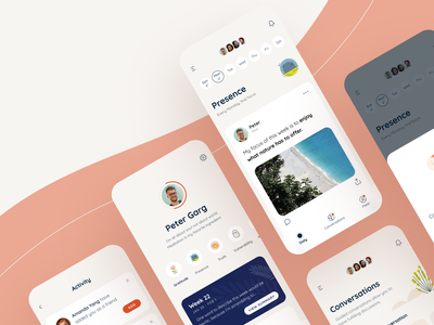 Longwalks - iOS App - featured by Oprah Winfrey product app design android mobile app illustrations simple trendy profile feed sharing usability retention engagement clean journal ios