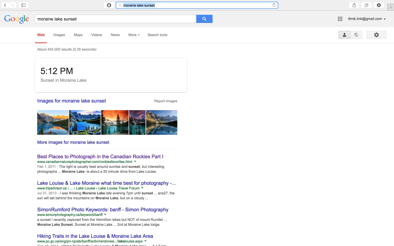 Current google