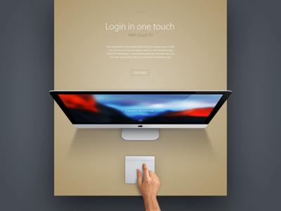 OS X El capitan - login touch ID open start fingerprint touchid login apple capitan el yosemite mac osx