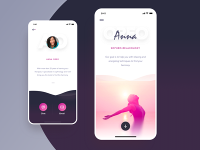 Relaxation Center Landing Page