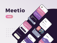 Meetio free ui kit 2