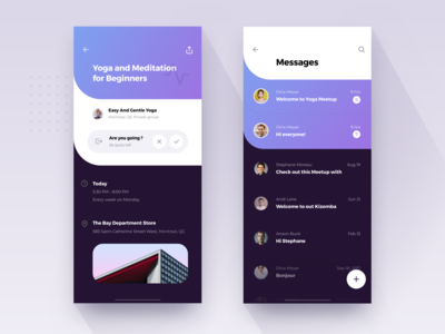 Events & Messages