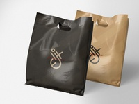 eXO - 1 plastic Plastic Bag Design