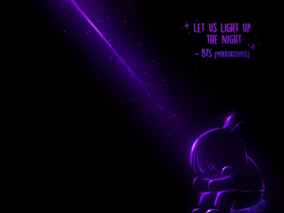 BTS save me✨💜 ipadproart illustration drawing doodle fanart mikrokosmos light purple
