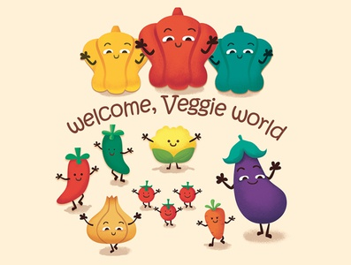 Welcome to 🍆🍄🥦🥕🍅Veggie World