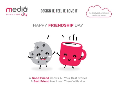 Happy Friendship Day newsletter design campaign design catalog design brochure design logo design vector conversion catalogue design vector logo graphic design branding agency branding