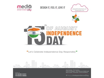 Happy Independence Day - Let's Celebrate Independence Day logo design design graphic design agency advertising agency cataloguedesign brochure design graphicdesign graphic design branding agency branding