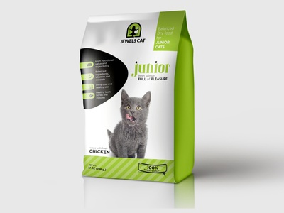 Pet Food Packaging Design for Jewels Cat brand food packaging logo design logo packaging packaging design advertising agency photoshop illustrator graphic graphicdesign design graphic design branding agency branding