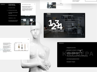 Website for Samsonika - online projects for Helen Marlen Group