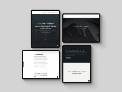 #Tabview - Lateraltrust finance web ui design ux design ipad pro ipad tablet design 2020 webdesign website webapp ux ui design