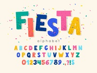 Fiesta and Festival Alphabet