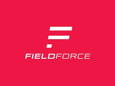 FieldForce flat logo design logotype logo