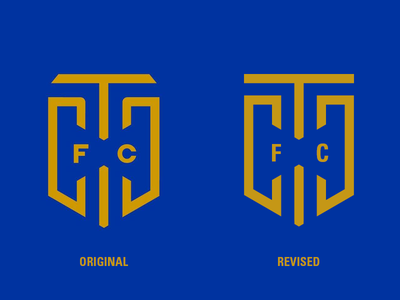 Cape Town City Football Club redesign logo club football city town cape
